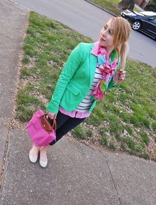 OOTD: Kelly Green for Spring