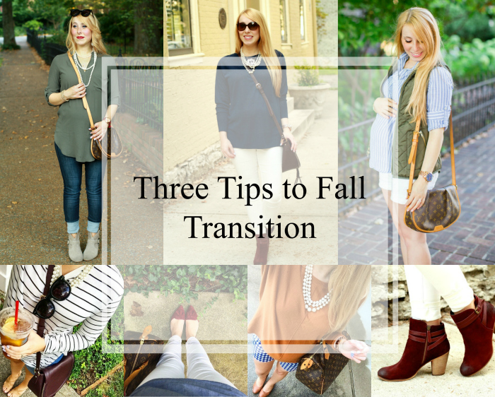 transition to fall wardrobe