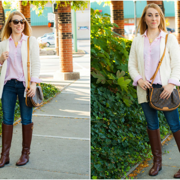Pink Gingham & Experimenting With Personal Style