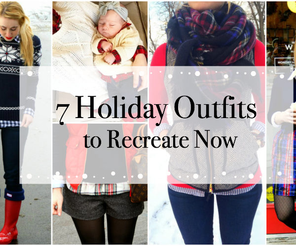 7 Holiday Outfits to Recreate Now