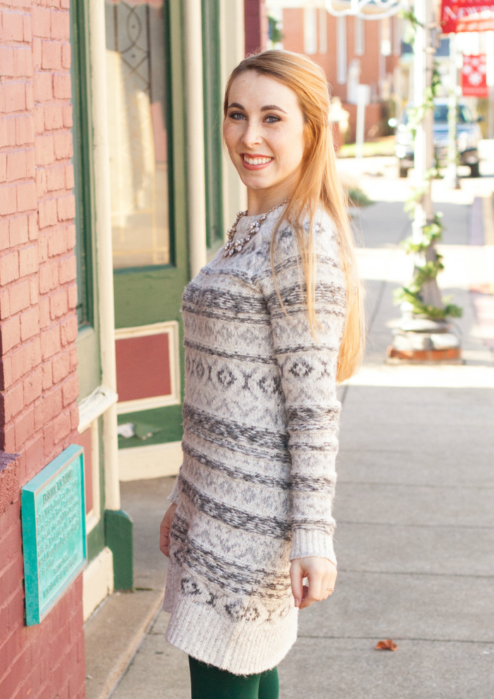 Fair Isle Sweater Tights - Best Sweater 2018