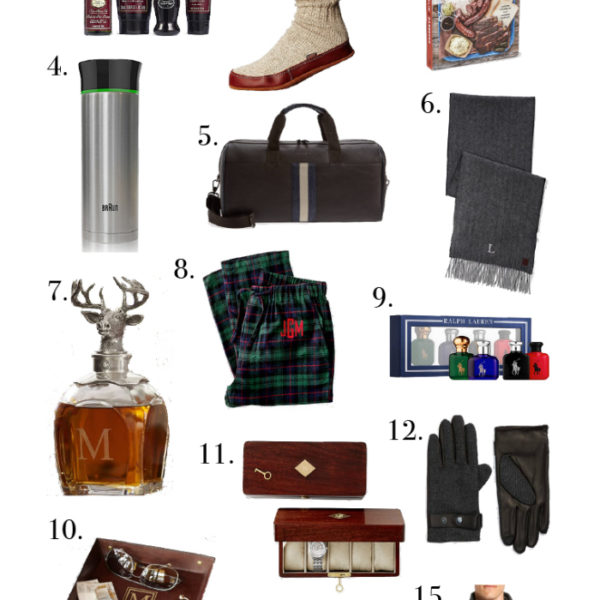 Holiday Gift Guide:  For Him + $950 Nordstrom Giveaway Cont.