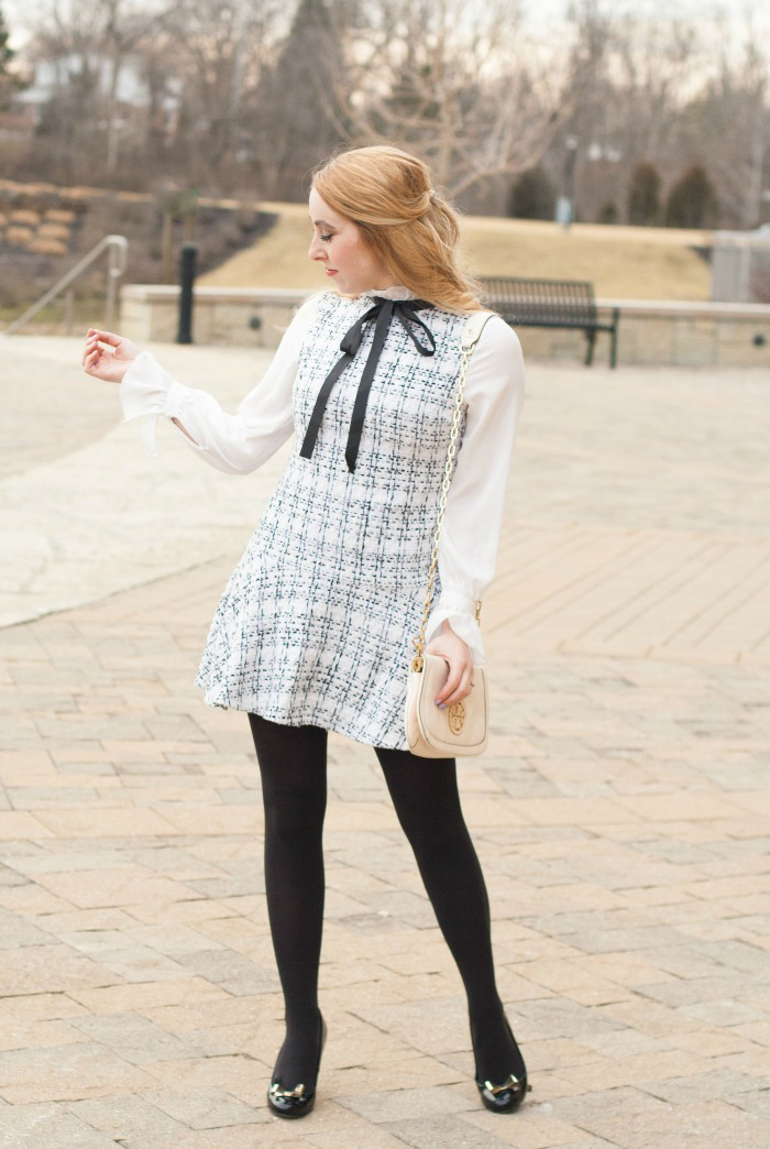 2a62091c74c The Perfect Little Tweed Dress - CLASSY SASSY